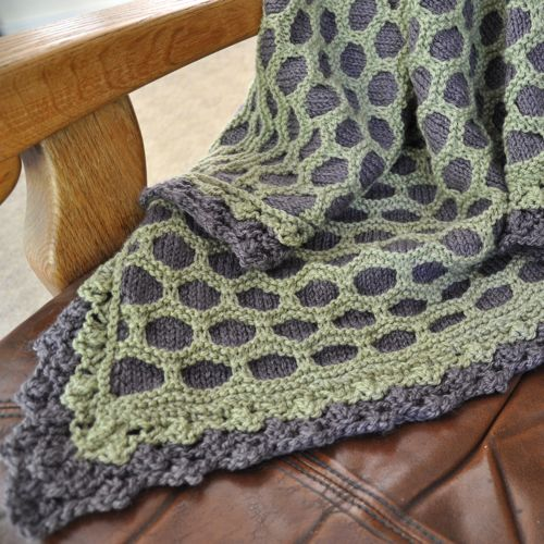Knitting Pattern For Honeycomb Blanket : Bessie May