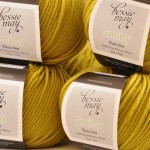 Bessie May Smitsy - fine merino aran wool in 'Lichen'