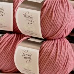 Bessie May Smitsy - fine merino aran wool in 'Kiss'